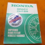 Honda CH125 JF02 Werkstatthandbuch Spacy Werkstatt-Handbuch WHB 1983 GB/F/D Spacy CH125