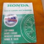 Original Werkstatt-Handbuch MTX125R/MTX250R JD05