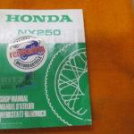 Original Werkstatt-Handbuch NX250 MD25