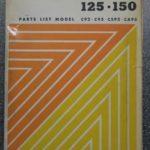 Original Ersatzteile-Liste C92/C95 Benly