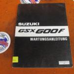 Original Werkstatt-Handbuch GSX600F GN72A