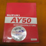Suzuki AY50 Ersatzteile-Liste 1997