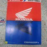 CBR600Fx PC35 Original Werkstatt-Handbuch