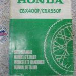 CBX400F/CBX550F PC04 Original Werkstatt-Handbuch