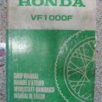 VF1000F Original Werkstatt-Handbuch
