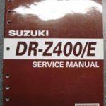 DR-Z400 BC111 Original Werkstatt-Handbuch