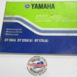 Yamaha DT125E/125A Original Werkstatt-Handbuch WHB