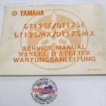 Yamaha DT125MX 2A6 Original Werkstatt-Handbuch WHB