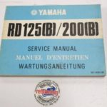 Yamaha RD125B Original Werkstatt-Handbuch WHB