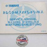 Yamaha RD50/80MX Original Werkstatt-Handbuch WHB