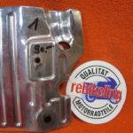 VFR750R RC30 Fussrasterplatte Hitzeschutz