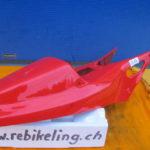 Verschalung VFR750R RC30 77236-MR7-600ZA Verkleidung Heck Heckverkleidung Heckverschalung Sitz H14