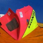 VFR750R RC30 Racing 64270-MR7-602ZA Performance unten Spickel Verschalung Verkleidnung S6