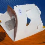 VFR750R Verkleidung RC30 64270-MR7-602ZA Spickel Verschalung unten S8