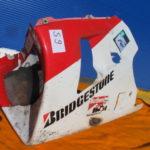 VFR750R Spickel RC30 64270-MR7-602ZA Verkleidung Verschalung unten S9